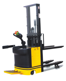 Hydraulic B. P. Double Pallet Lifting Stacker