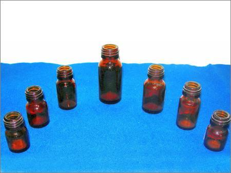 Small Pharma Bottles