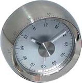 Metal Case With Cresendo Alarm Movement