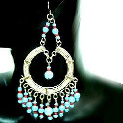Charm Beaded Earrings in  Mangolpuri Indl. Area - Ii