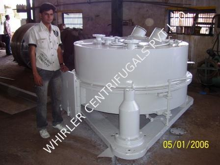 Bottom Discharge Centrifuge