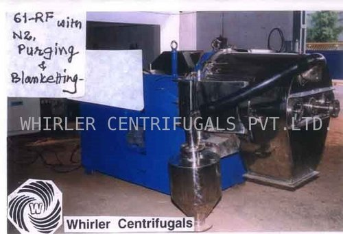 Industrial Reversing Out Filter Bag Centrifuge