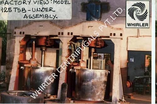 Top Suspended Bottom Discharge Centrifuge