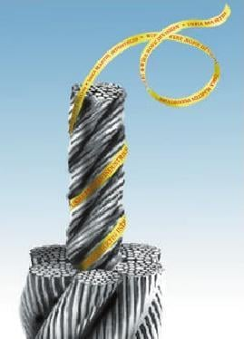 Identification Tape For Steel Wire Rope