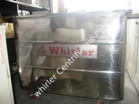 Industrial SS Trolley with Plastic Basket