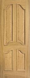 4 Panel Meditteranean Masonite Door