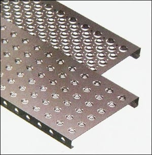 Perforated Floor Tiles