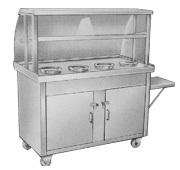 Bain Marie with Service Trolley