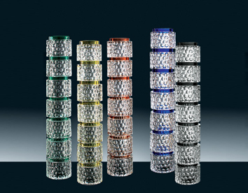 Bead Glass Pillar