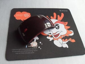 Flat Promotional Rubber Mouse Pad