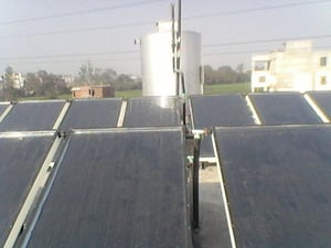 Forced Circulation Solar Water Heater