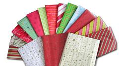 Colored Calico Paper