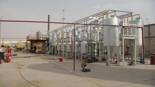 Industrial Pyrolysis Plant