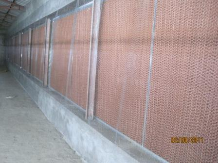 Evaporative Cooling Pads For Green House