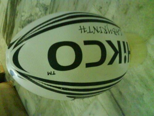 Rugby Union Match Balls