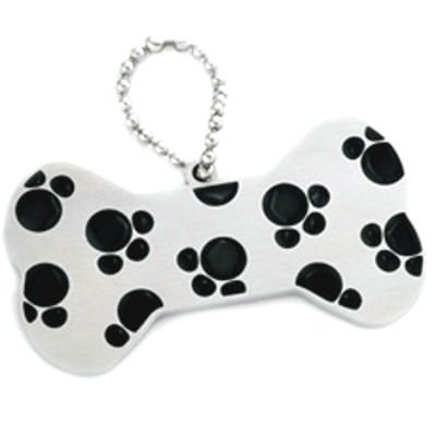 Dog Tag Key Ring
