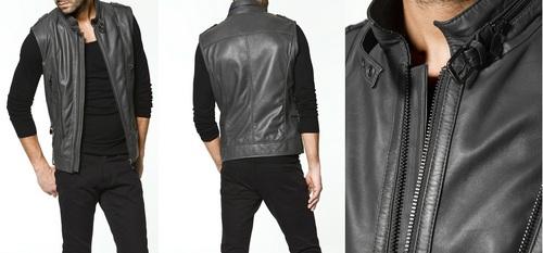 Leather Waist Coat For Men Blackstone Xim Services Pvt Ltd Bd