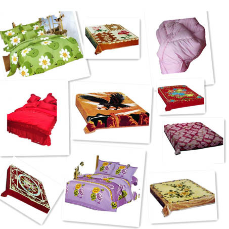 Designer Embroidery Bed Sheet