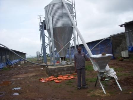 Feed Silo For Poultry Farms