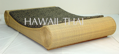 Synthetic Rattan Bed