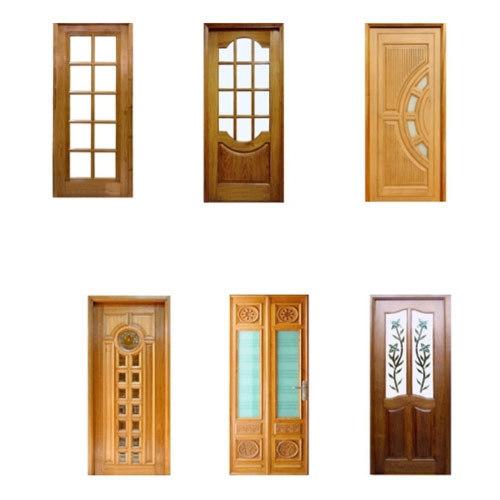 Glass Wood Panel Doors In Faridabad Haryana R S Doors