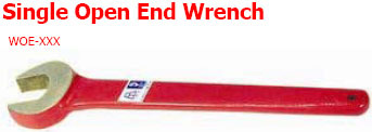 Single Open End Wrench