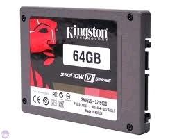 """Kingston Ssd 64gb V100 Series 2.5"""""""