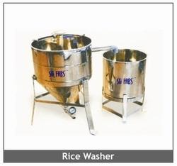 Stainless Steel Rice Washing Machine