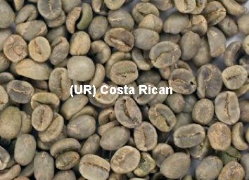 Unroasted Costa Rican Tarrazu Coffee