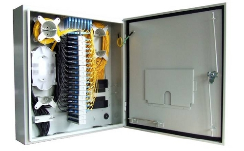 Optic Fiber Distribution Box With Plc Splitter 72 Cores