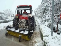 Snow Sweeper Tractor PTO Driven