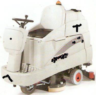 Floor Scrubber Drier Cleaning Machine