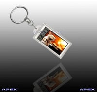 Solar Keychain AK022 (With Unadjustable Clock)