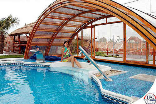 Above Ground Round Pool Domes In Hrbr Layout