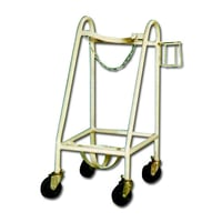 Oblique Type Oxygen Cylinder Trolley