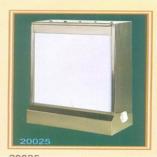 Single X-Ray View Box (Wholly Ss)