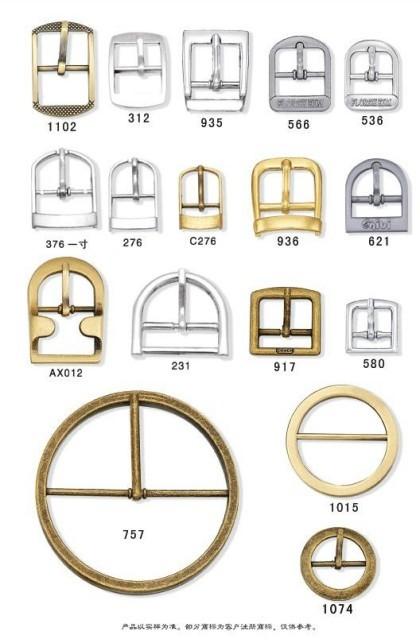 Newest Design Golden Pin Buckle