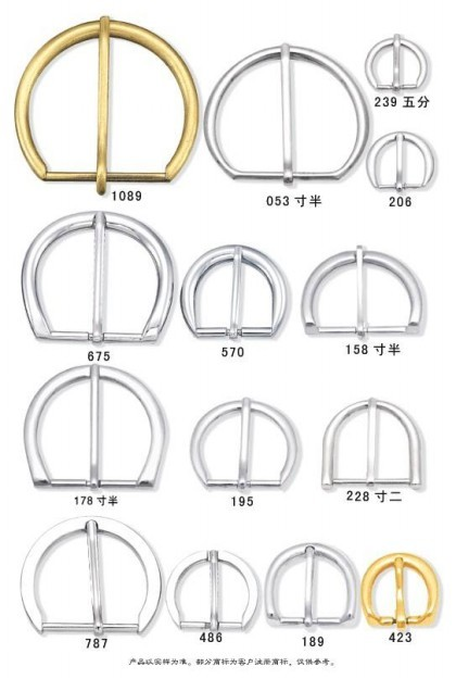 Pin Buckle With Clip