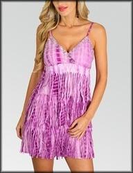 Ladies Printed Short Dresses