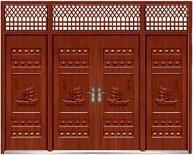 Good Quality Imitation Copper Entry Door