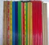 PVC Coated Wood Mop Stick