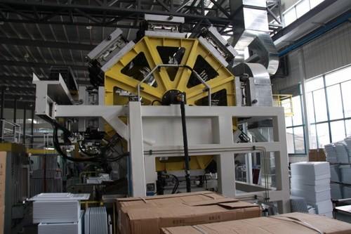 Rotary Drum Door Foaming Machines