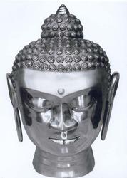 Aluminium Buddha Head