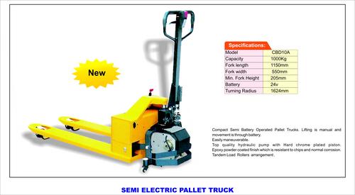Semi Electric Pallet Truck