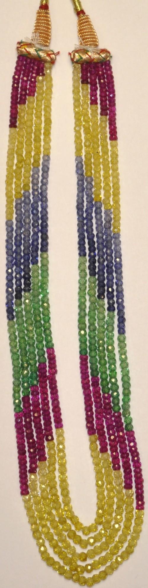 Multi Color Cubic Zircon Beads