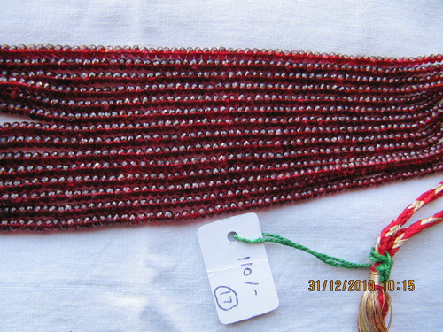 Red Spinal Beads