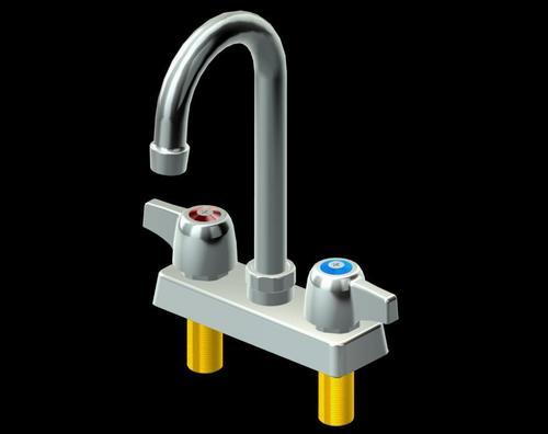 """8"""" Heavy Duty Deck Mount Faucet"""