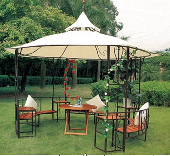 Tent With Window Screens