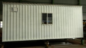 White Portable Office Containers