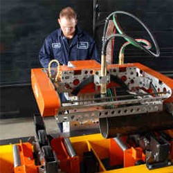 4 Axis Cnc Pipe Profile Cutting Machine